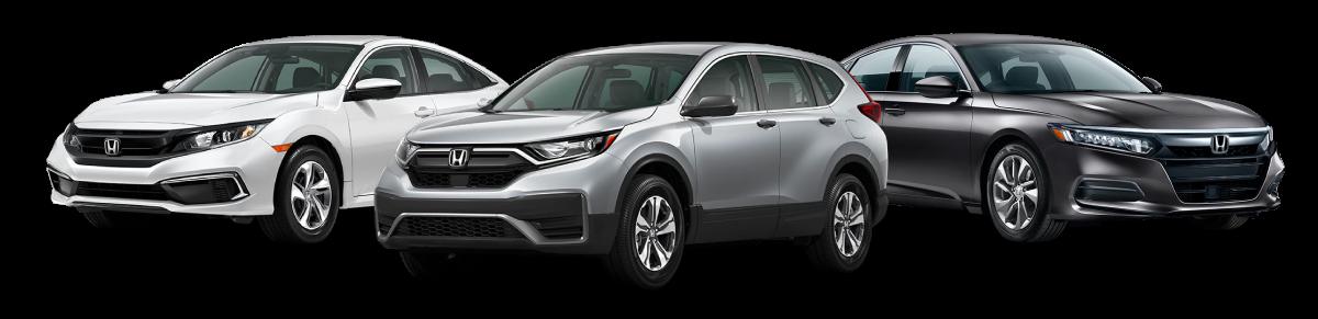 New Honda Vehicles