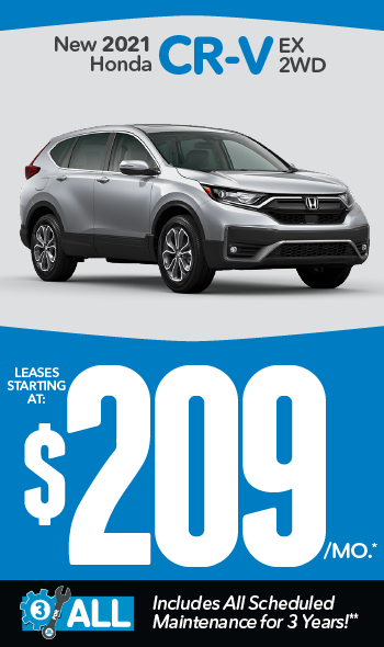 New 2021 Honda CR-V | Leases starting at $179 a month