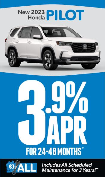 New 2021 Honda Pilot | 0% APR for 60 months
