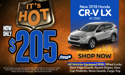 Click here to see our CR-V offer