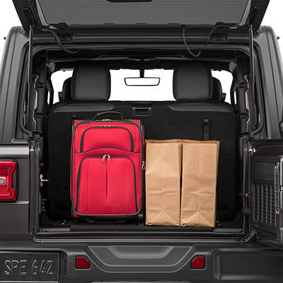 Jeep Wrangler Trunk Space