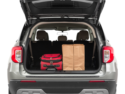 2020 Ford Explorer Trunk Space