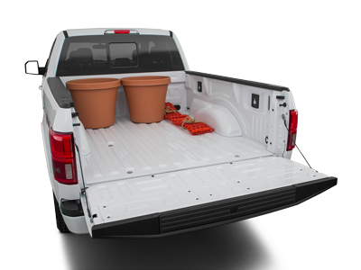 2020 Ford F-150 Trunk Space