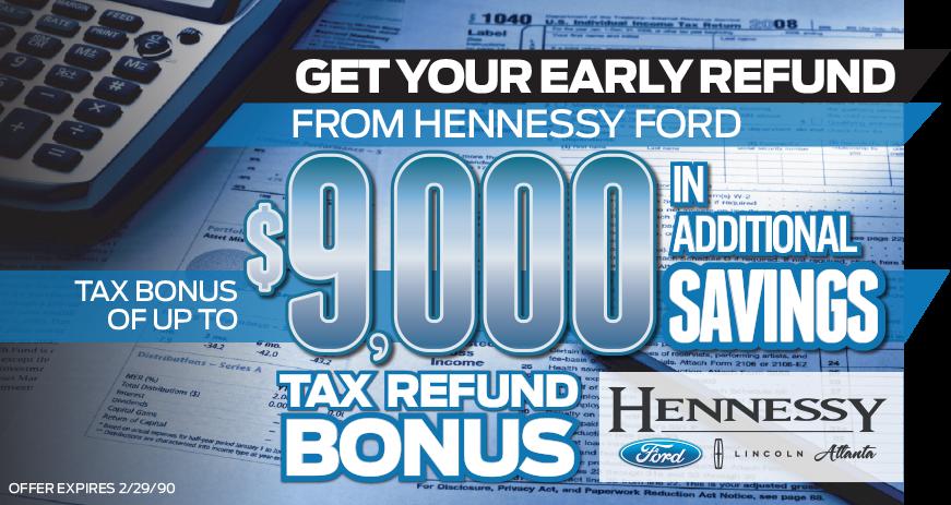 Hennessy Tax Bonus