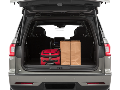 2020 Lincoln Navigator Trunk Space