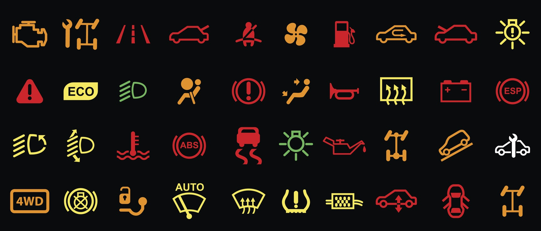 A Guide To Your Mazdas Dashboard Lights