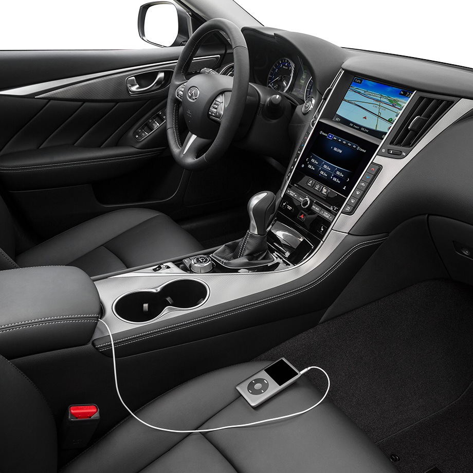 2016 INFINITI Q50 Smartphone Connectivity