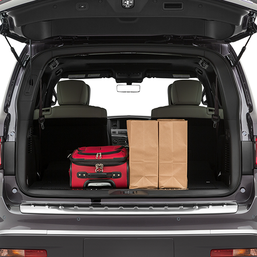 QX80 Trunk Space