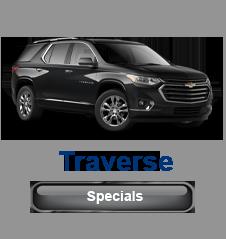 Chevrolet Traverse Specials
