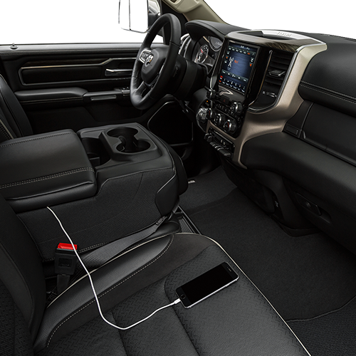 2019 RAM 1500 Laramie in Paris, TX Available Technology Features