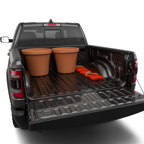 2019 RAM 1500 Trunk space