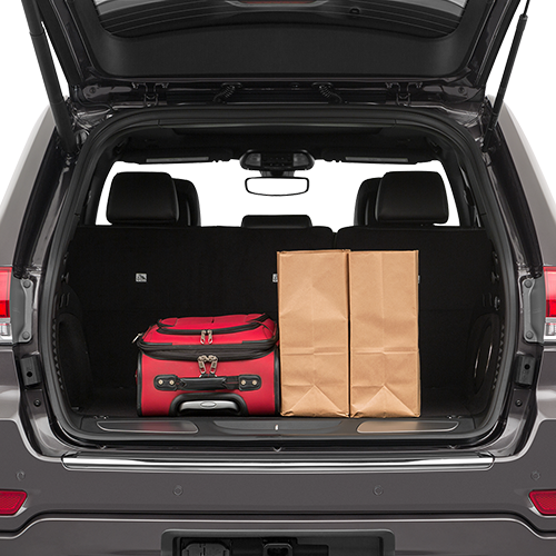 2019 Jeep Grand Cherokee Trunk space