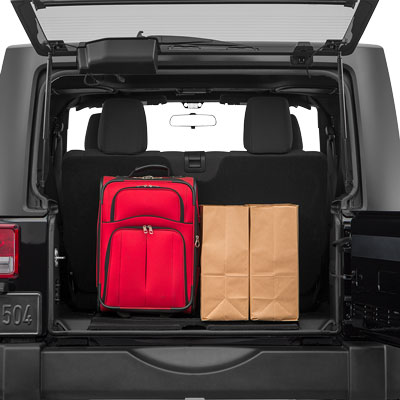 2018 Jeep Wrangler Paris, TX Cargo Space