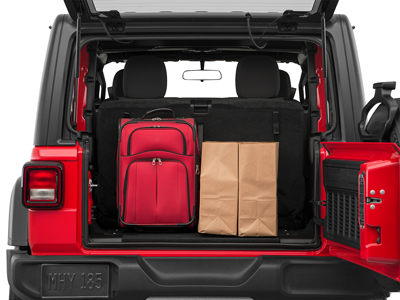 2020 Jeep Wrangler in Paris, TX Cargo Space