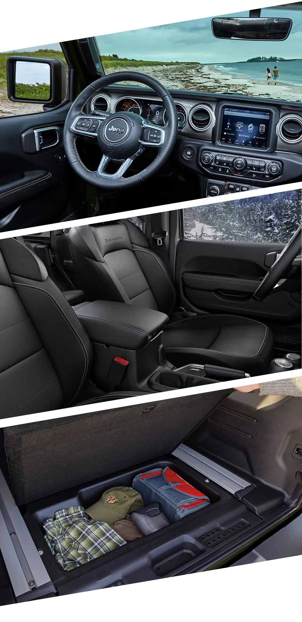 2021 Jeep Wrangler Interior Paris, TX