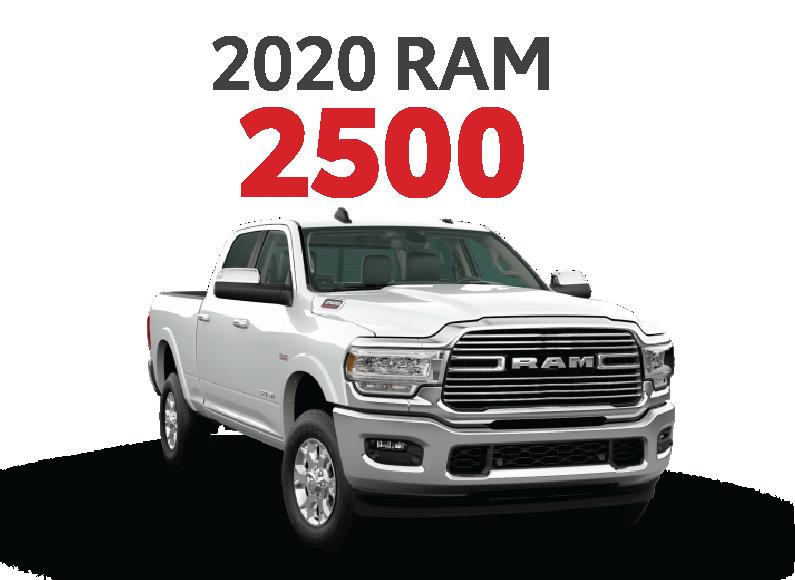 2020 RAM 2500 at James Hodge Motor Co.