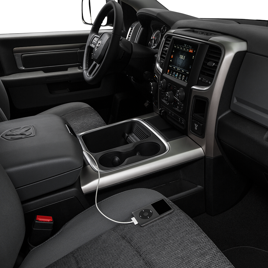 2017 RAM 1500 in Hugo, OK Available Technology Features