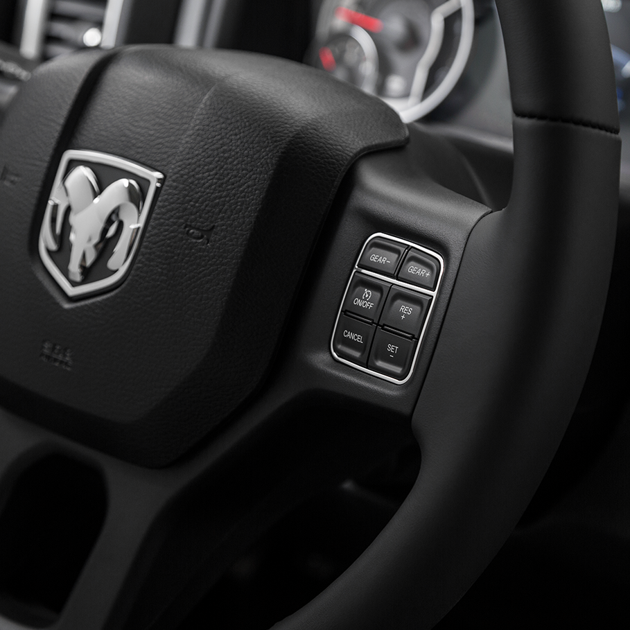 2017 RAM 1500 in Hugo, OK Available Safety Features