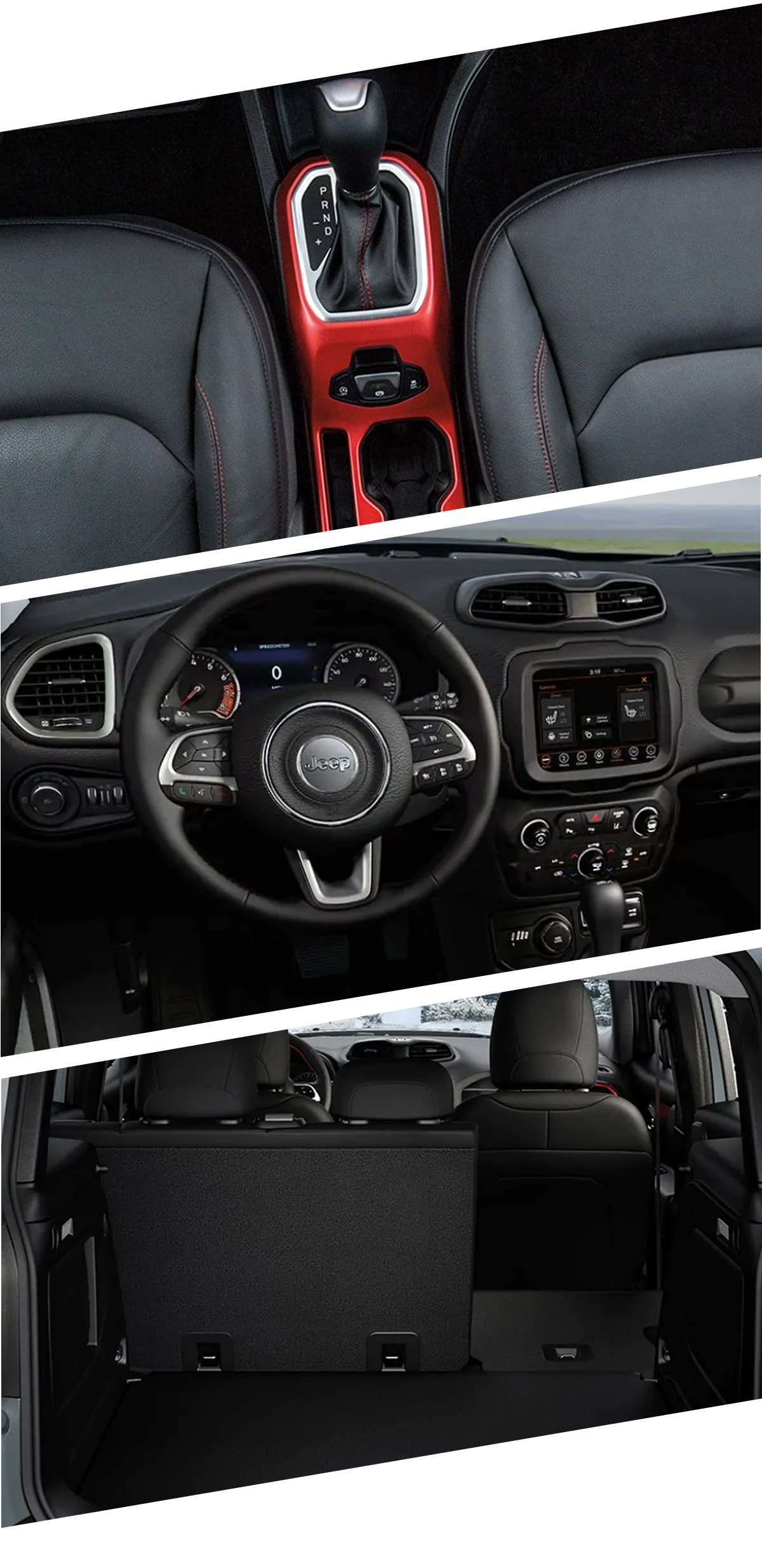 2021 Jeep Renegade Interior in Hugo, OK