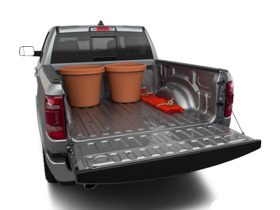 2020 RAM 1500 Trunk Space