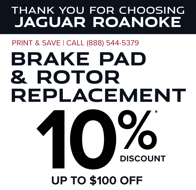 Brake Special - $50 off Brakes and Rotors (per axle)