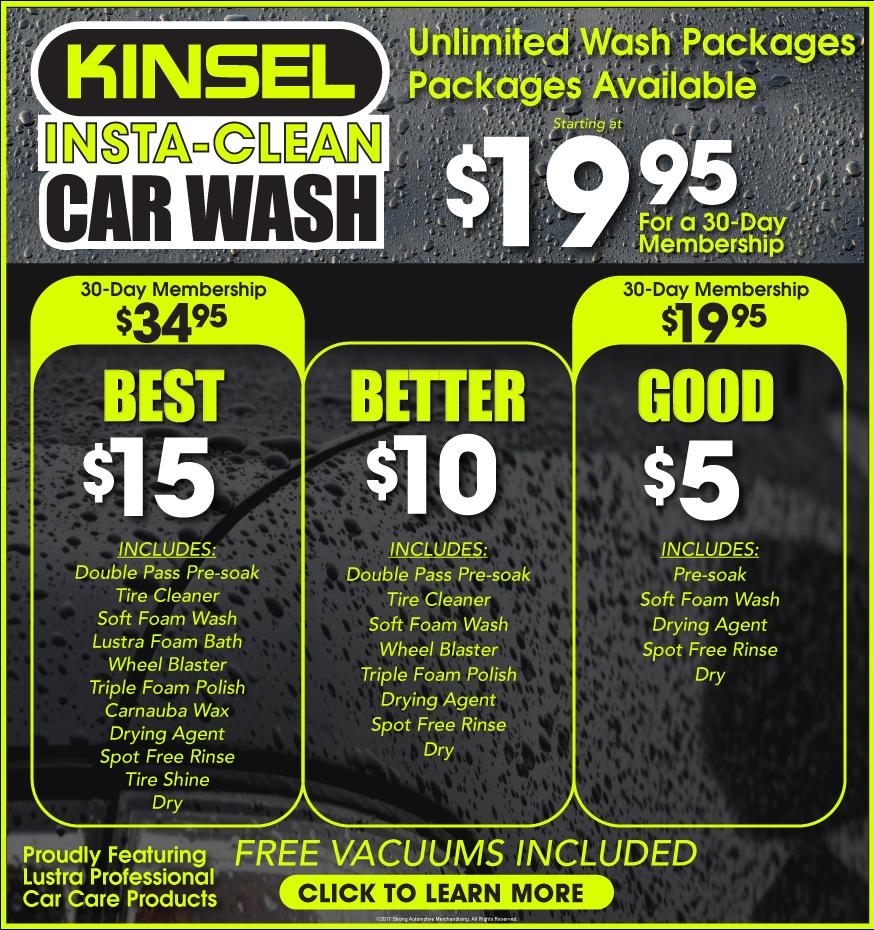 Auto Good Image: Car Wash Specials