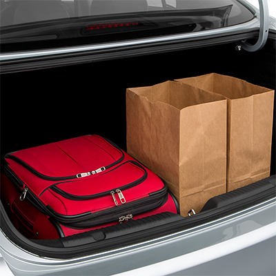 2018 Kia Forte Trunk Space