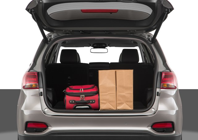 2019 Kia Sorento Trunk Space
