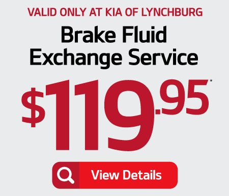 Brake Fluid Exchange Service $119.95 - Click for Details