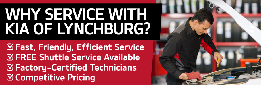 Why Service with Kia of Lynchburg?
