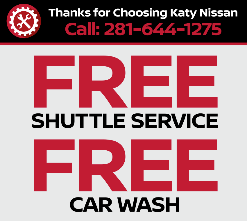 Thanks for choosing Katy Nissan