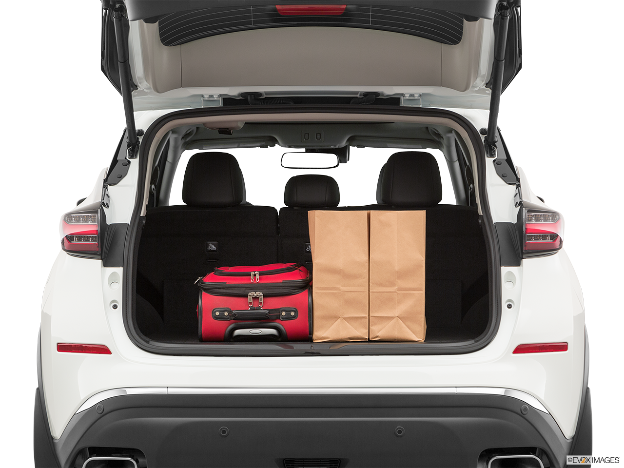 Nissan Murano Special Trunk Space