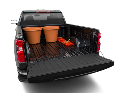 2020 Chevy Silverado 1500 Trunk Space