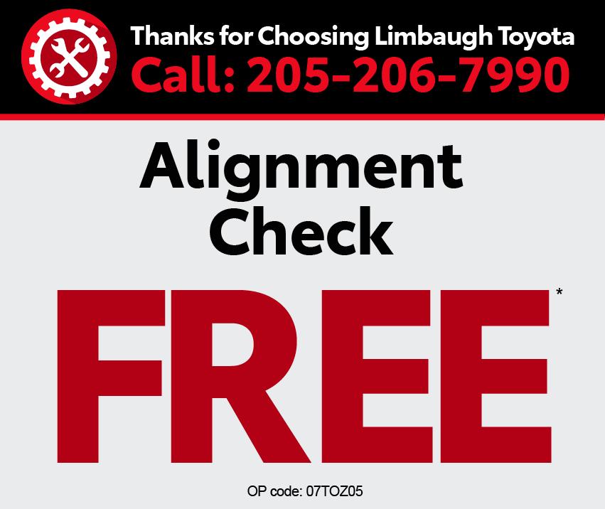 Thanks for choosing Limbaugh Toyota