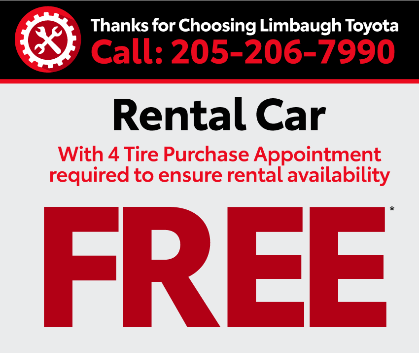 Thanks for choosing Limbaugh Toyota