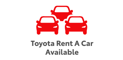 Toyota Rent A Car Available