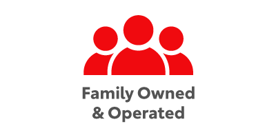 Familiy Owned and Operated