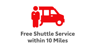 Free Shuttle within 10 Miles