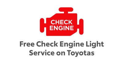 Free Check Engine Light Service on Toyotas