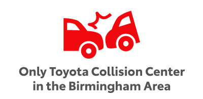 Only Toyota Collision Center in the Birmingham Area