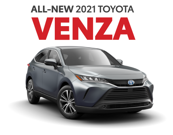 All-New 2021 Toyota Venza at Limbaugh Toyota