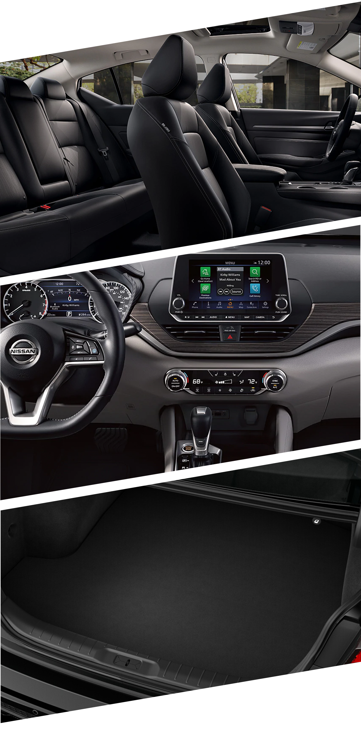 2021 Nissan Altima Interior Images in Fort Walton Beach, FL