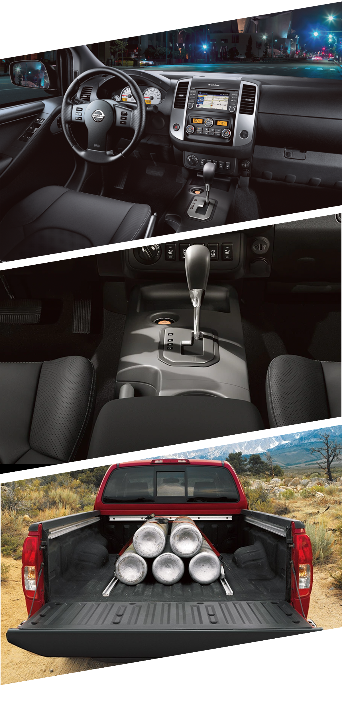 2021 Nissan Frontier Interior Images in Fort Walton Beach, FL