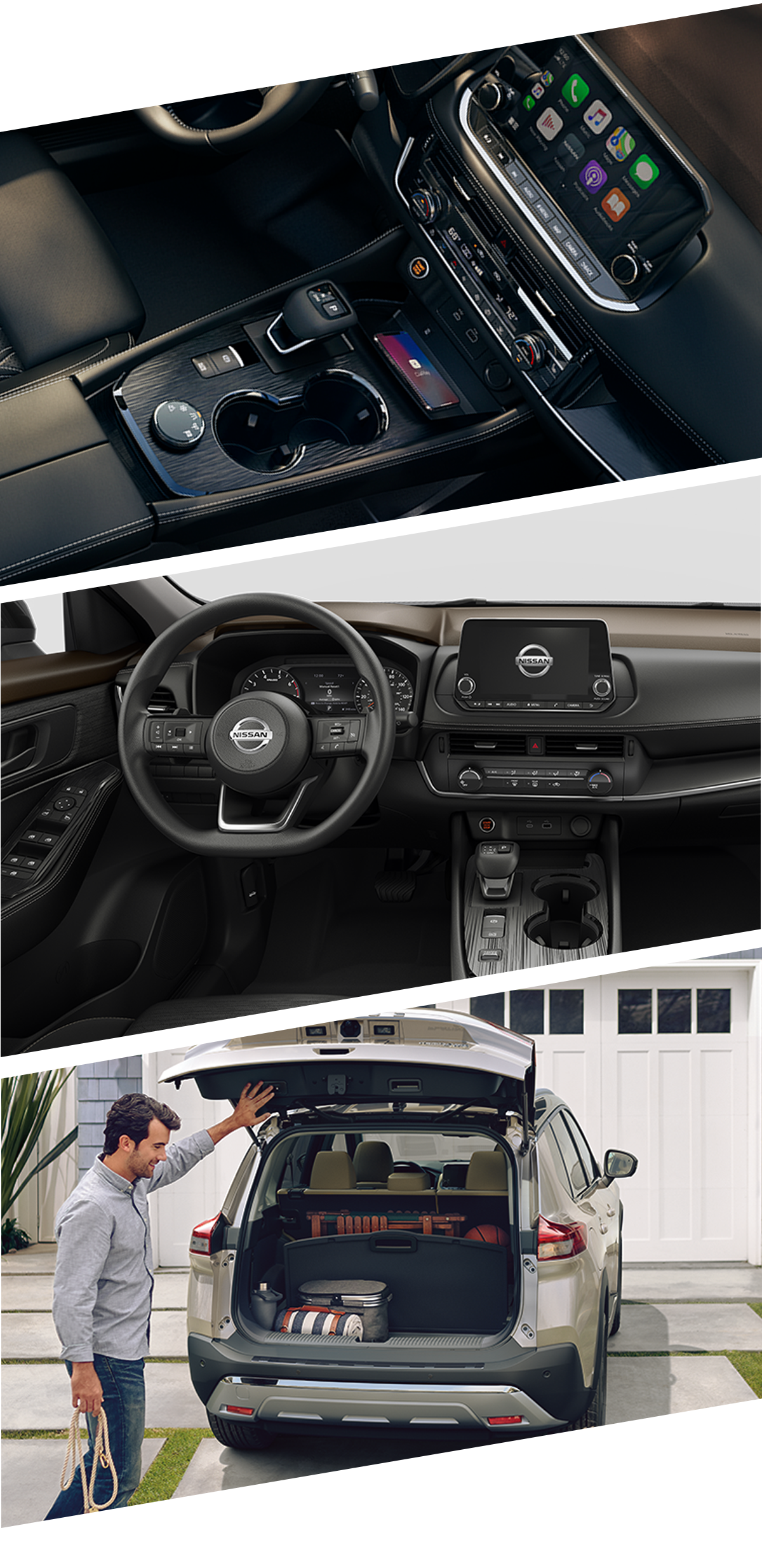 2021 Nissan Rogue Interior Images in Fort Walton Beach, FL