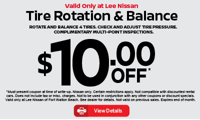 Tire Rotation and Balance $10 off. Click for details.