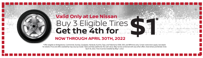 Save $70.00 on 4 eligible tires. Tire rotation and balance.