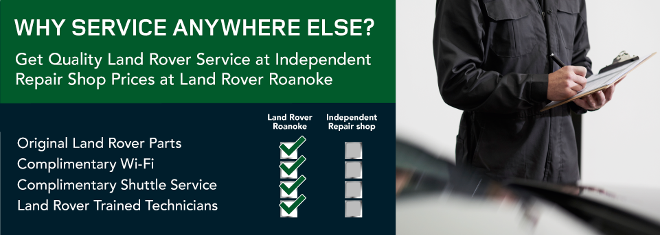 Get Quality Land Rover Service at Independent Repair Shop Prices