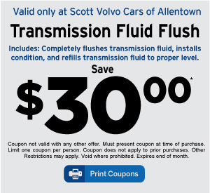 Scott Volvo Cars of Allentown Service Coupon