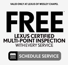 Lexus Floor Mats $93.75 - Schedule Service