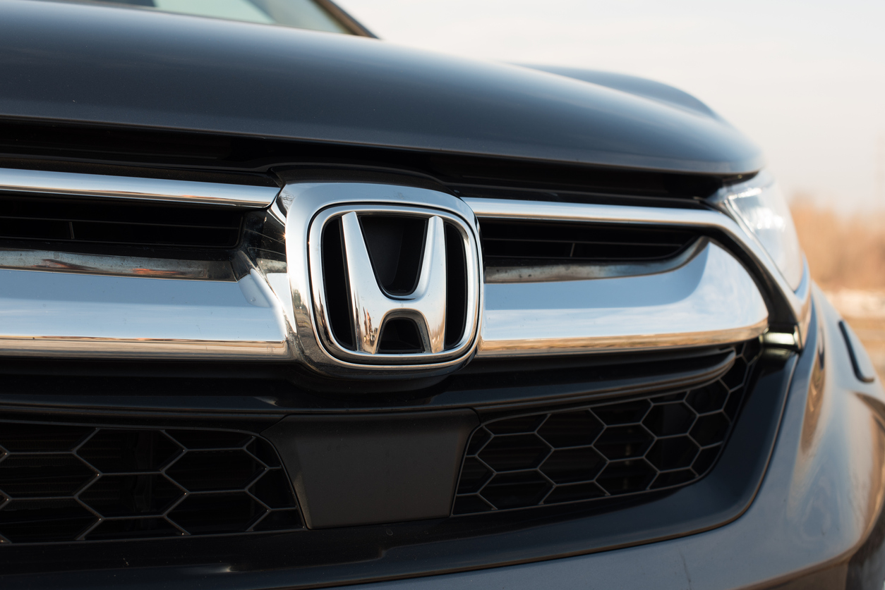 Front of a Honda vehicle